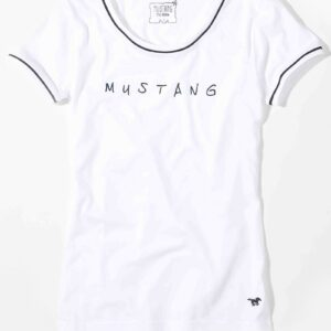 Mustang Cecilia fehér rövidujjú póló