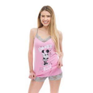 Poppy Gréti Minnie Amaze Me közép pink trikó szett