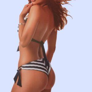 Paloma Kék-fehér csíkos bikini