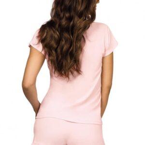 Donna Agnes 1/2 rózsaszín pizsama
