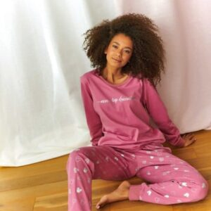 Doctor Nap pizsama málna színű, Minnie