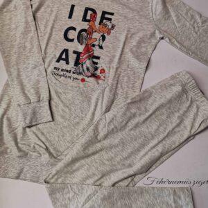 Affect Bárányos szürke, zsebes pizsama