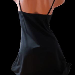 Lupoline fekete hálóruha