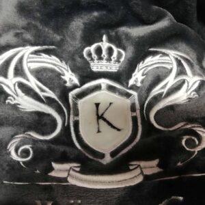 Poppy König sötétszürke férfi köntös