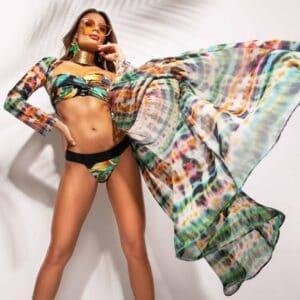 Paloma tropical 2 bandeau bikini