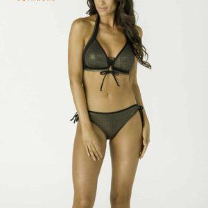 Carib arany-fekete bikini