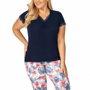 Donna Mila 3/4 pizsama, plus size