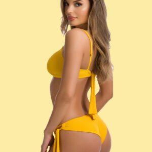 Paloma topfazonú sárga bikini