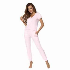 Donna Demi pizsama, babarózsaszín