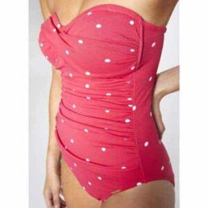 Ysabel Mora eperszínű egyrészes bikini